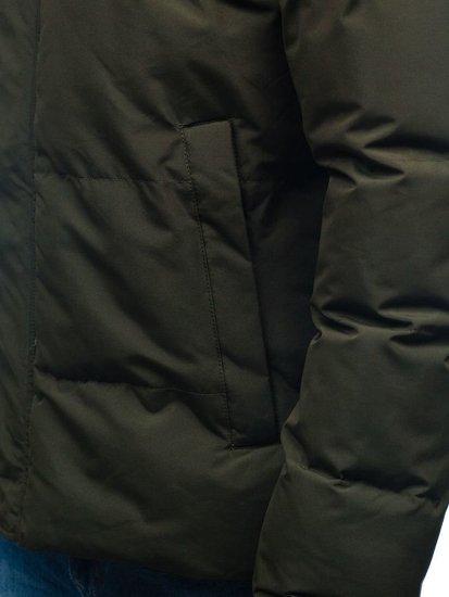 Khaki pánska zimná bunda BOLF 201820