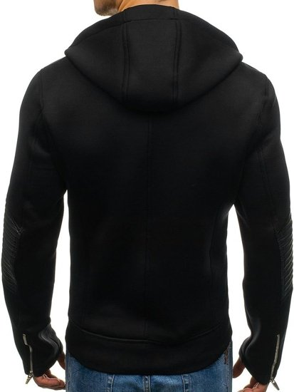 Čierna pánska prechodná bunda BOLF 2295