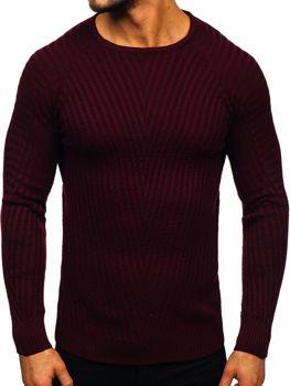 Bordový pánsky sveter Bolf  285