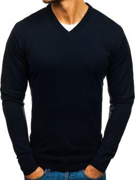 Atramentový pánsky sveter BOLF 200