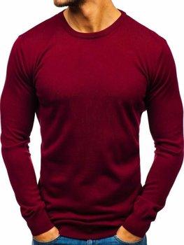 Bordový pánsky sveter BOLF 2300