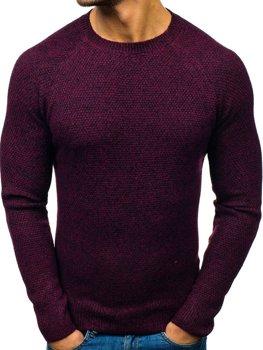 Bordový pánsky sveter BOLF H1810
