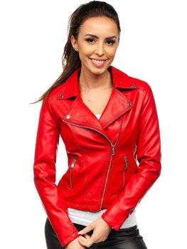 Červená dámska koženková sidovka Bolf 6703