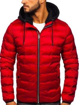 Červená pánska prechodná bunda Bolf 5332