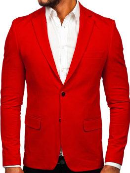 Červené pánske elegantné sako Bolf SR2003