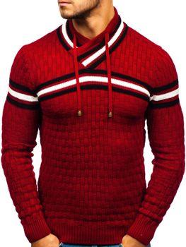 Červený pánsky sveter BOLF 6006