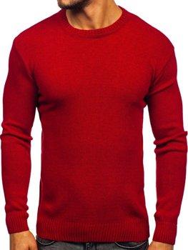 Červený pánsky sveter Bolf 0001