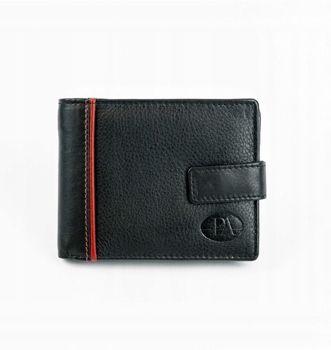 Čierna pánska kožená  peňaženka 872