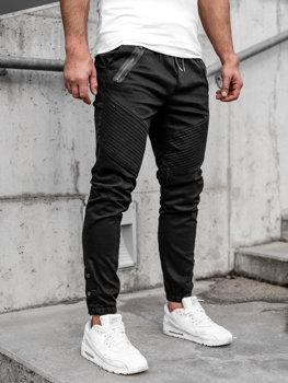 Čierne pánske joggery Bolf 0952