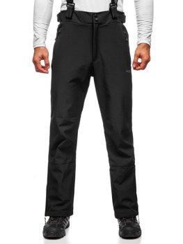 Čierne pánske lyžiarske nohavice Bolf BK159