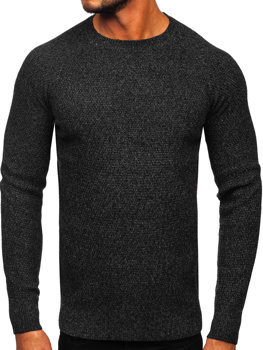 Čierny pánsky sveter BOLF H1810