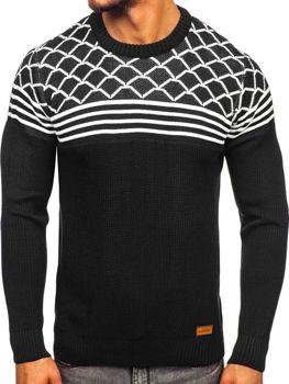 Čierny pánsky sveter Bolf 3017