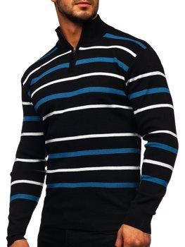Čierny pánsky sveter Bolf W05