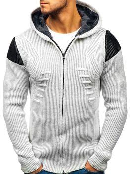 Ecru pánsky sveter BOLF 20009