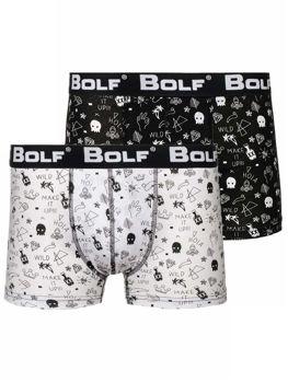 Farebné pánske boxerky BOLF 0953-2P 2 KS