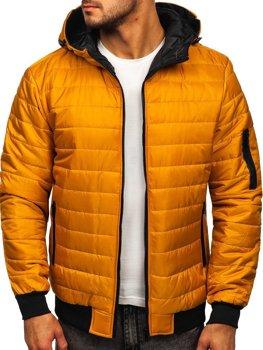Kamelová pánska športová prechodná bunda Bolf MY13