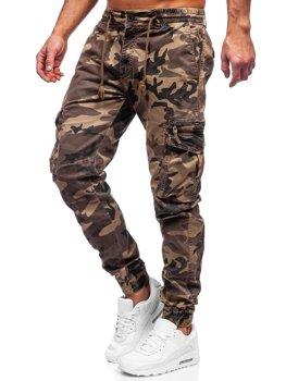 Kamelové pánske kapsáčové joggery Bolf CT6026S0