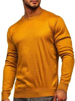 Kamelový pánsky sveter Bolf GFC01