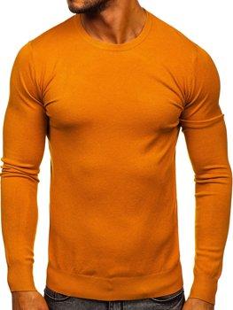 Kamelový pánsky sveter Bolf YY01