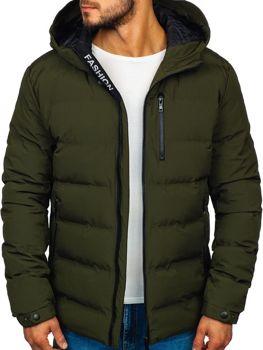 Khaki pánska zimná bunda Bolf 5925