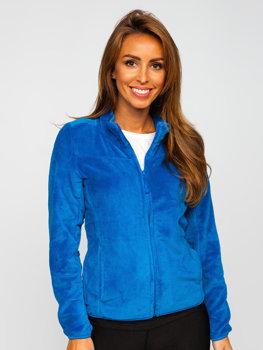 Modrá dámska flísová bunda Bolf HH001