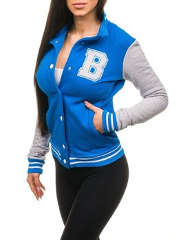 Modrá dámska mikina BOLF 19S