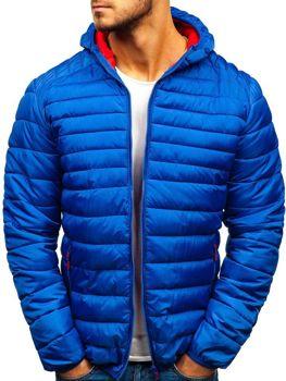 Modrá pánska športová prechodná bunda BOLF SM16 8a210c183a8