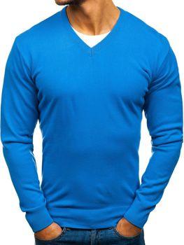 Modrý pánsky sveter BOLF 200