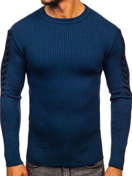 Modrý pánsky sveter Bolf 360