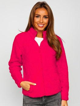 Ružová dámska flísová bunda Bolf HH006