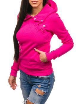 Ružová dámska mikina BOLF 15S