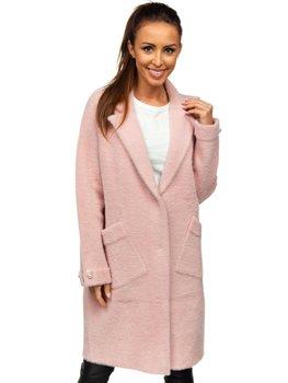 Ružový dámsky plášť Bolf 20737