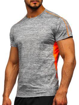 Šedé pánske tréningové tričko Bolf KS2100