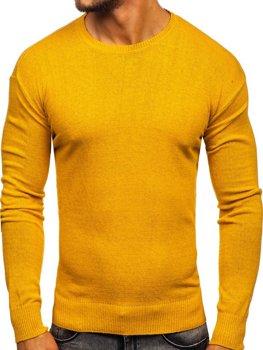 Žltý pánsky sveter Bolf 0001