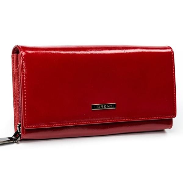Červená dámska kožená peňaženka 2903