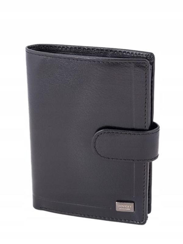 Čierna pánska kožená  peňaženka 240