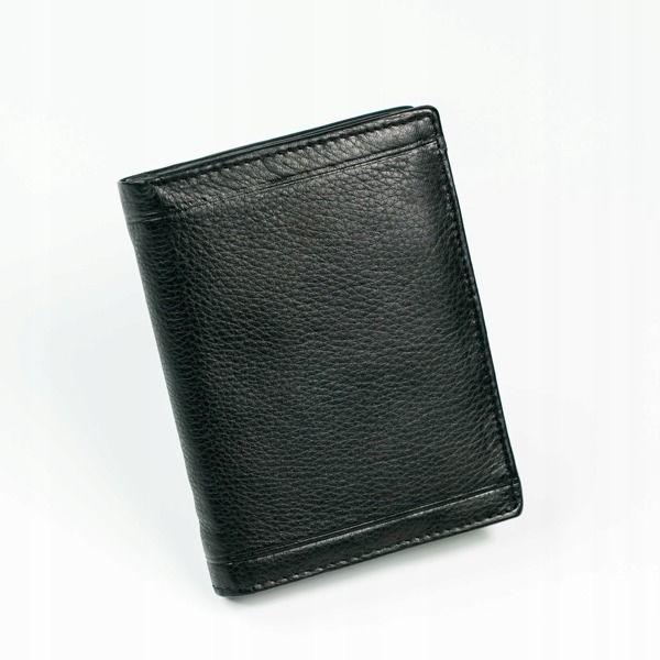 Čierna pánska kožená  peňaženka 879