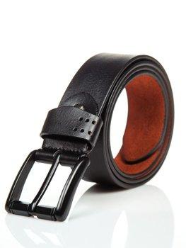 Čierna pánska kožená peňaženka Bolf P011