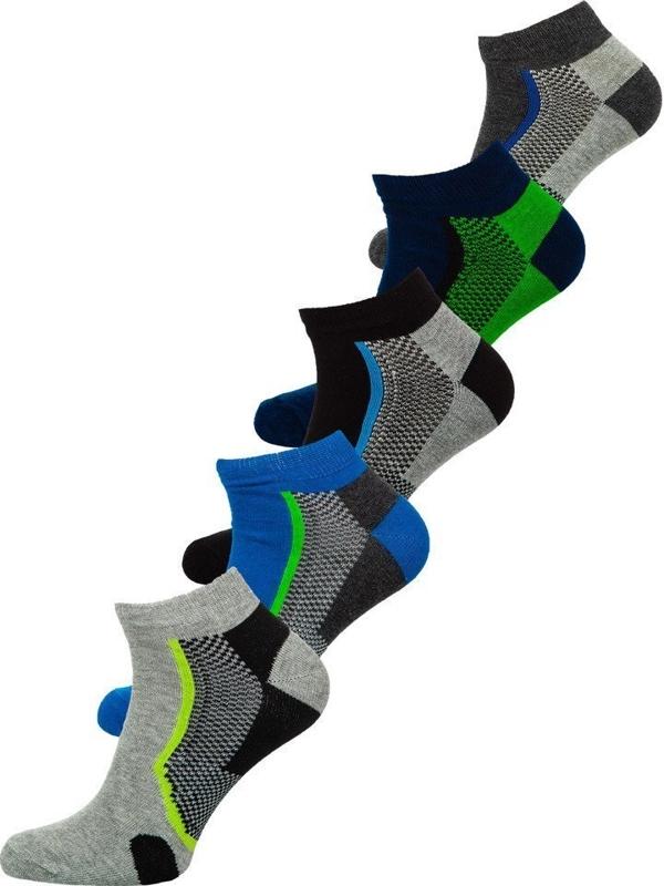 Farebné pánske ponožky BOLF X10051-5P 5 KS