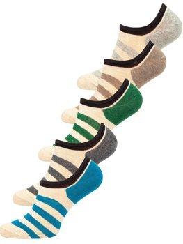 Farebné pánske ponožky Bolf  X10169-5P 5 PACK