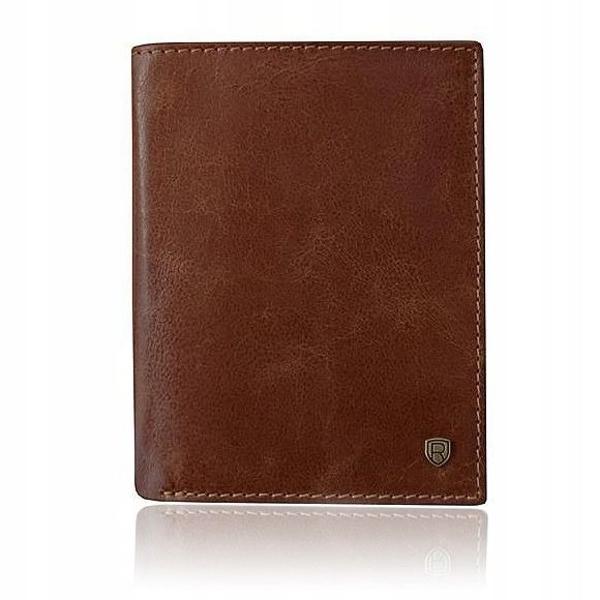 Hnedá pánska kožená peňaženka 921