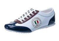 Pánska obuv Bolf 610-2 bielo-bordová
