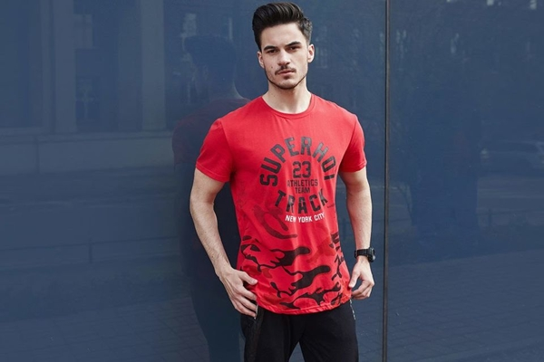 Štylizácia č. 436 - tričko s potlačou,  teplákové joggery, hodinky