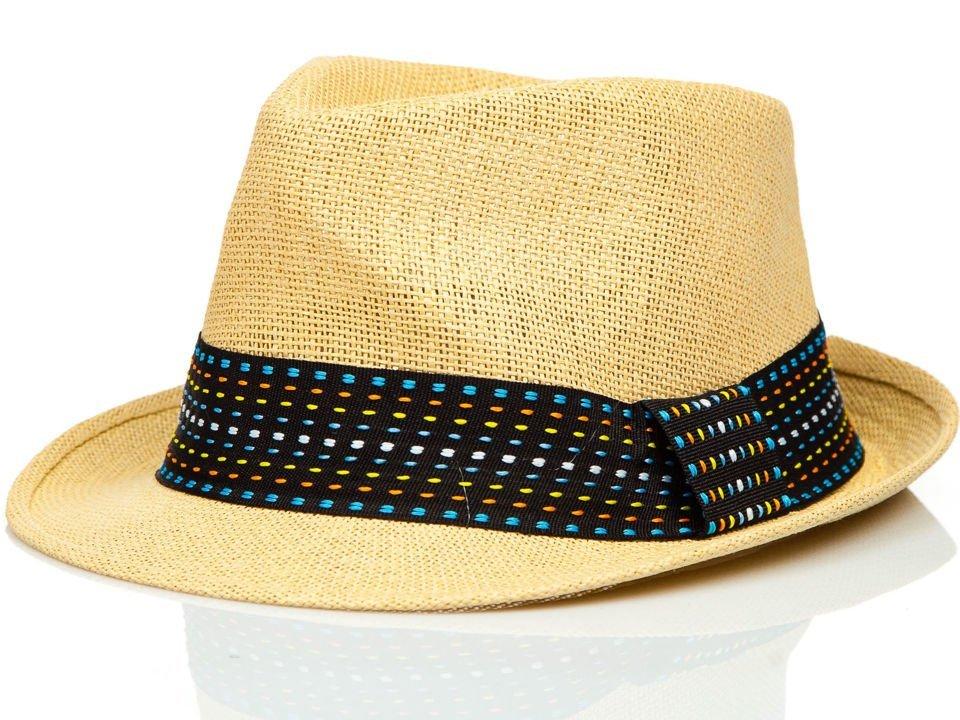 26015e716 Béžový pánsky klobúk BOLF KAP216