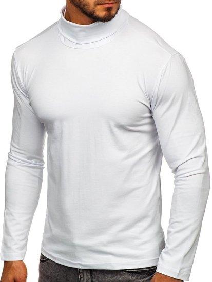 Biely rolák bez rukávov Bolf S6963
