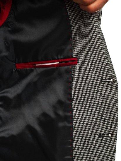 Čierne pánske ležérne sako BOLF 0158B