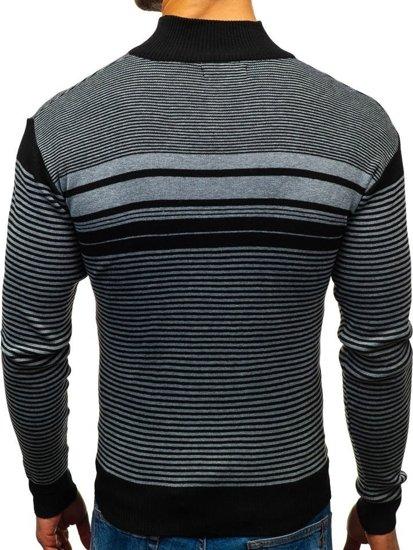 Čierny pánsky sveter BOLF BM6131