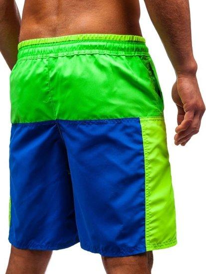 Farebné pánske kúpacie šortky BOLF 339D