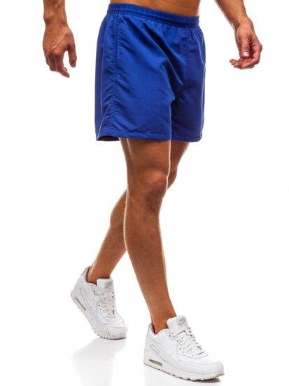 Modré pánske kúpacie šortky BOLF Y769