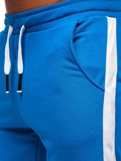 Modré pánske tepláky Bolf 11120
